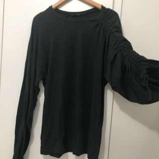 Zara grey special design top size s