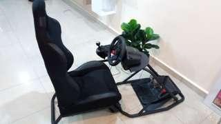 Obutto racing simulation rig and g29 + shifter