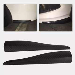 Car Bumper Protector Carbon Fiber (Per Pair)