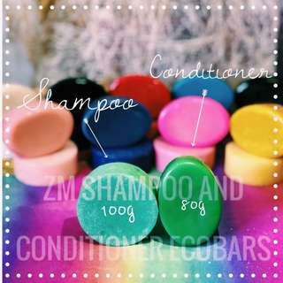 Shampoo bar and conditioner Set