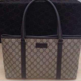 🎀Authentic Gucci Leather Tote🎀
