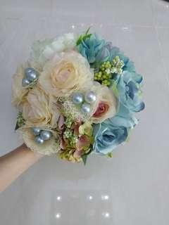 D.I.Y 氣質結婚花球
