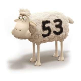 SERTA MASCOT Lamb Stuffed Dolls