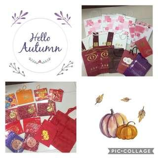 28 gift bags/ new year bags