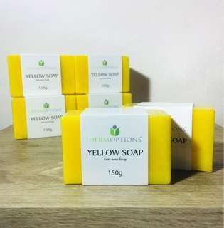 Derm Options Yellow (Anti-acne) Soap 150g
