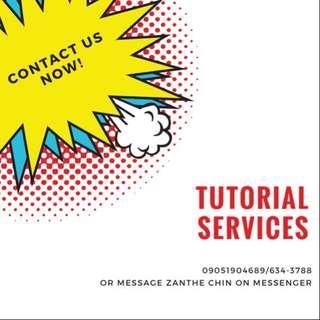 Tutorial Services