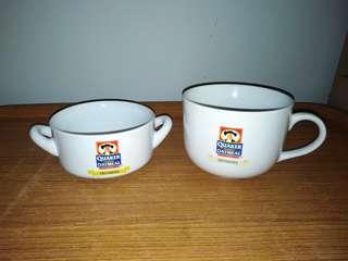 Quaker Oatmeal Soup Mug