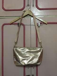 CLN Rose Gold Sling Bag