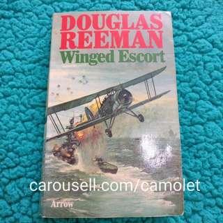 Winged Escort by Douglass Reeman | English Novel | Import | Bahasa Inggris | World war 2 novel | Novel Langka | Aviasi | Navy | Pesawat | Aviation | Perang Dunia | Soldier | Tentara | Army
