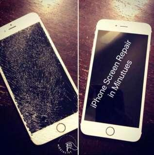 Original iPhone Crack Screen Replacement! Call us today!