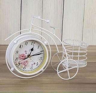 Jam meja table clock shabbychic antik unik vintage murah cantik hadiah kado  gift perlengkapan rumah toko 9bb24612e2