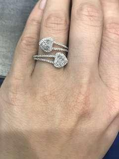 SALE - White gold Ring