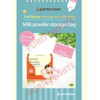 (120 pieces) perfection milk powder storage bag