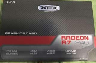 AMD Radeon R7 240 4gb DDR3