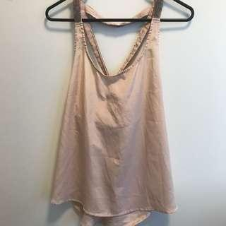 Pretty Pink Top with back detail