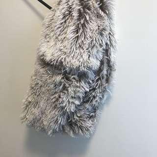 Cozy Neck Scarf Faux Fur Soft
