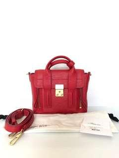 Phillip Lim Mini Pashli Red GHW 2016 | in Excellent Condition | with Bag, Strap, Dustbag and Booklet