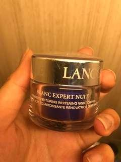 Blanc expert night cream
