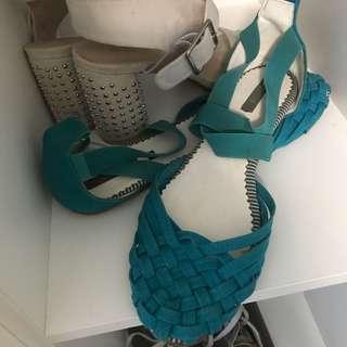 Cute Teal Sandals