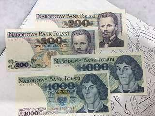 Lot of Polish 🇵🇱 banknotes