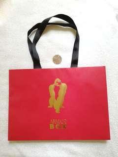 Giorgio Armani box 紙袋