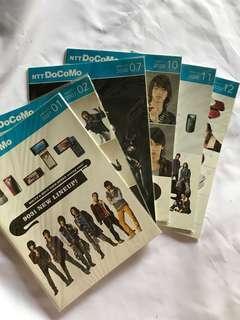 NTTDOCOMO Original Product Catalogue - KAT-TUN Covers