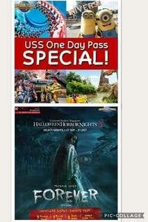 USS 1 full day Eticket or uSS HHN8 Eticket