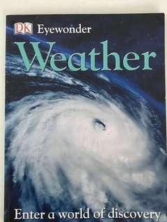 Science Weather book