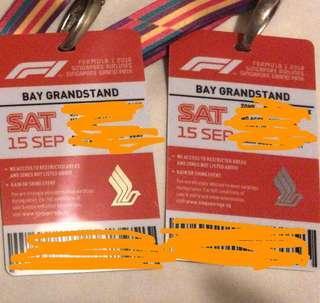 F1 Sat Tickets