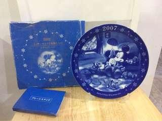Mickey Mouse decorative plate 2007