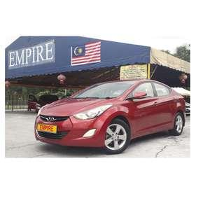 HYUNDAI ELANTRA 1.6 ( A ) GLS NEW FACELIFT !! PREMIUM HIGH SPECS COMES WITH KEYLESS ENTRY PUSH START & ETC !! ( AXX 2406 ) 1 CAREFUL OWNER !!