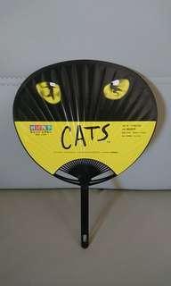 全新日本 Cats & Lion King Musical 紙扇