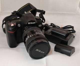Nikon D70 +AF Nikko 28-85mm 3.5-4.5/f, + 電池及充電器