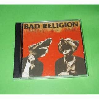 CD BAD RELIGION : RECIPE FOR HATE ALBUM (1993) PUNK ROCK MELODIC HARDCORE