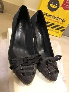 Venilla suite Navy 深灰色 高跟鞋 37號 接近全新 原價899