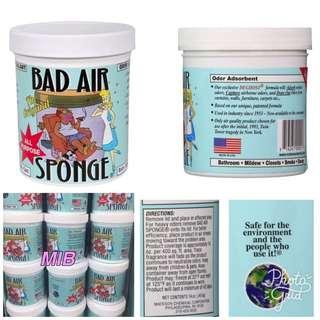 🌸少量現貨發售🌸  🇺🇸美國入口- Bad Air Sponge 空氣淨化劑14oz