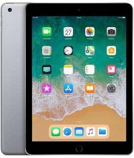 """BNIB 9.7"""" 6th Gen (2018) iPad 32GB WiFi only - Space Grey"""