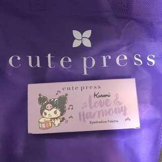 Cute Press cutepress Kuromi 眼影盤