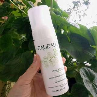 Caudelie instant foaming cleanser
