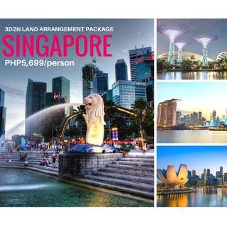 SINGAPORE tour package ALL in for 3D2N