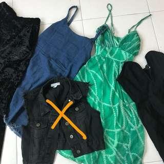 RM10 EACH!! dresses, pants, outerwear