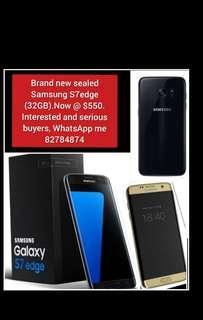 Brand new unopened Samsung S7(32GB)