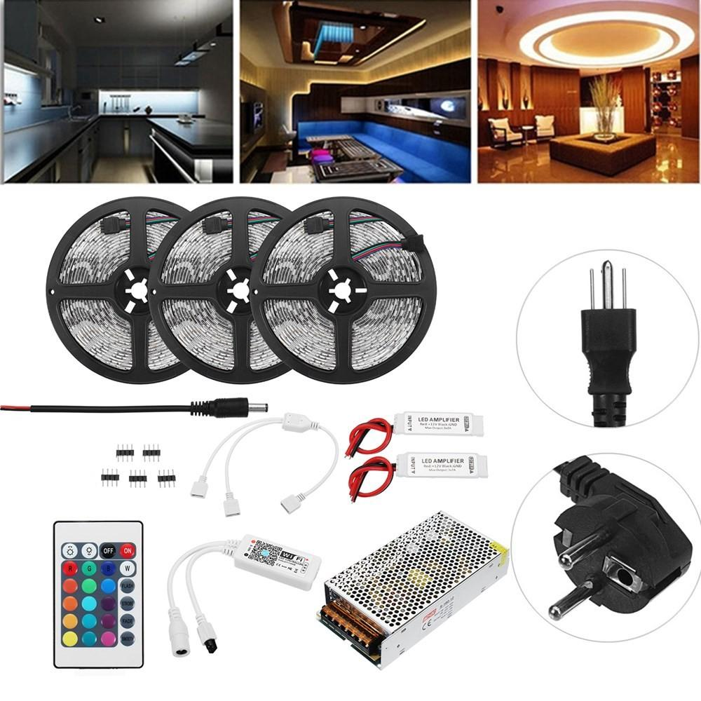15M SMD5050 RGB APP Control Smart LED Strip Light