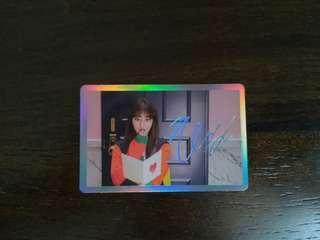 (WTS/WTT) Twice Signal Jihyo Holo Photocard / Pc