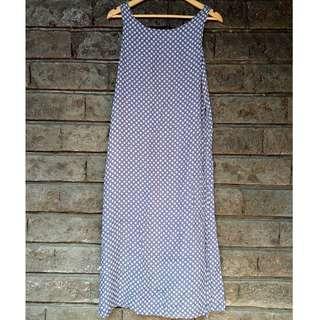 Printed Sleevless Maxi Dress (Flowy | Summer | Casual | Semi-loose)