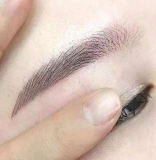 6D Korean eyebrow embroidery + FREE eyelash extension
