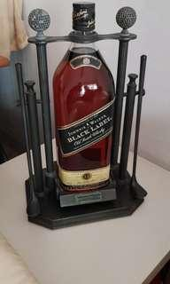 15 yr 4.5 litres johnny walker whisky