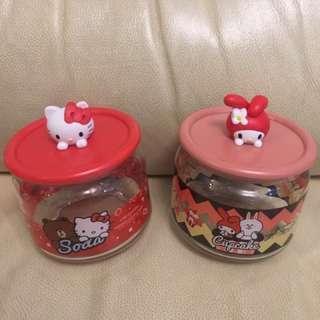 7-11 樽樽滿JOY玻璃樽系列Sanrio