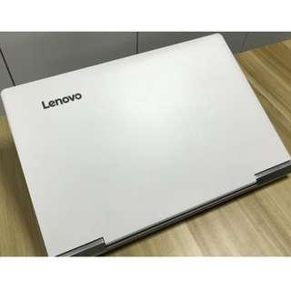 """(二手) Lenovo Xiaoxin 小新 700 15.3"""" i7 6700H 4G 1TB/256G SSD GTX 950 2G WHITE 95%NEW"""