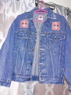 Authentic disney oversized jacket